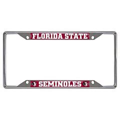 Florida State Seminoles License Plate Frame