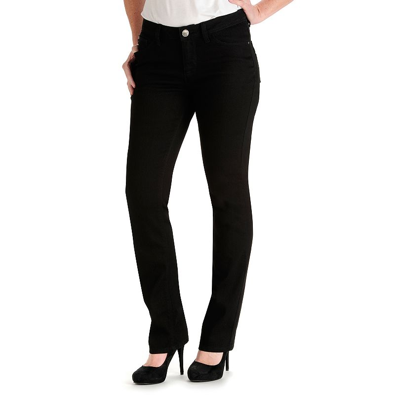 Lee Axel Perfect Fit Straight-Leg Jeans - Women's