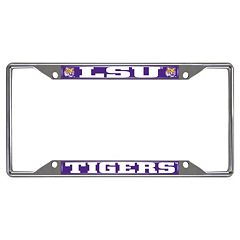 LSU Tigers License Plate Frame