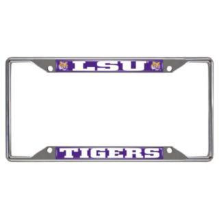 LSU Tigers License Plate Frame