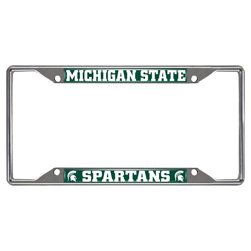 Michigan State Spartans License Plate Frame