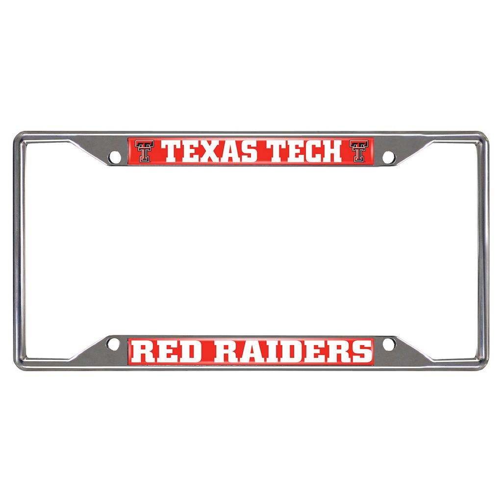 Texas Tech Red Raiders License Plate Frame