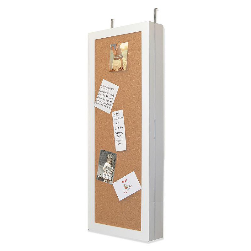 New View Corkboard Wall Storage Cabinet