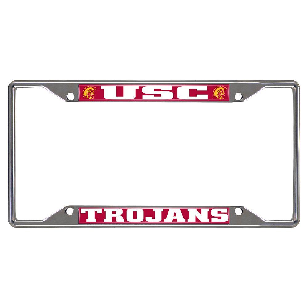 USC Trojans License Plate Frame