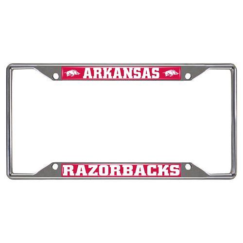 Arkansas Razorbacks License Plate Frame