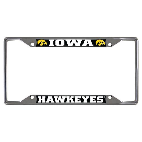 Iowa Hawkeyes License Plate Frame