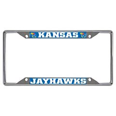 Kansas Jayhawks License Plate Frame