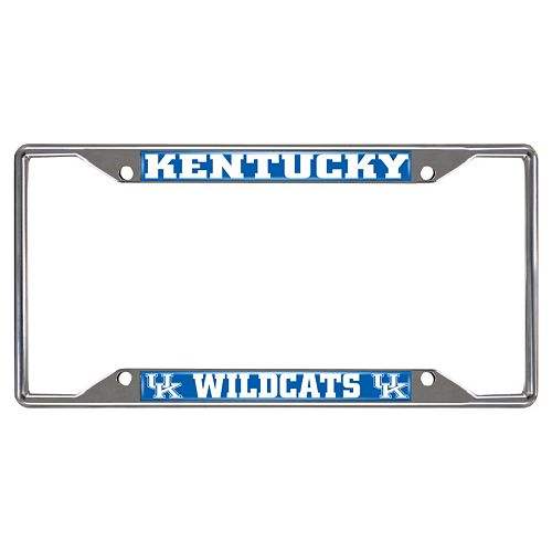 Kentucky Wildcats License Plate Frame
