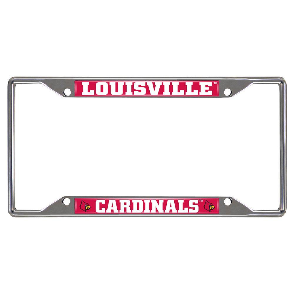 Louisville Cardinals License Plate Frame