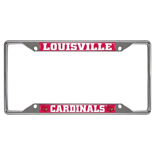 Louisville Cardinals License Plate Frame