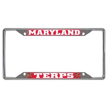 Maryland Terrapins License Plate Frame