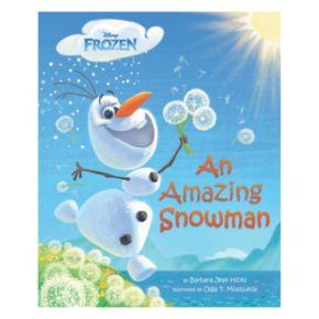 """Disney Frozen """"An Amazing Snowman"""" Book"""