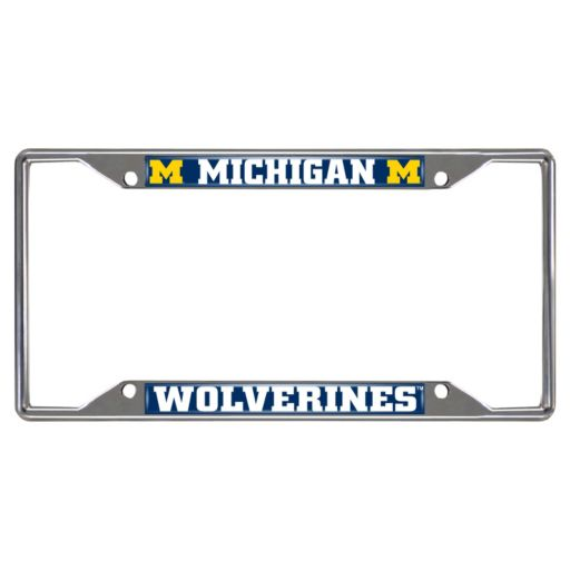Michigan Wolverines License Plate Frame