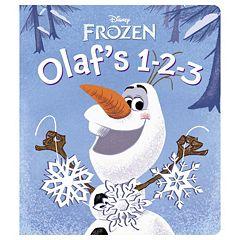 Disney's Frozen Olaf's 1-2-3 Board Book