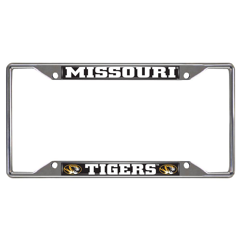 Missouri Tigers License Plate Frame
