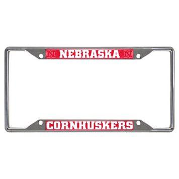 Nebraska Cornhuskers License Plate Frame