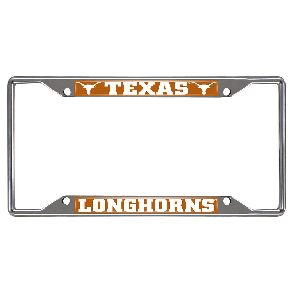 Texas Longhorns License Plate Frame