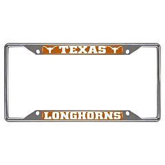 Texas Longhorns License Plate Frame
