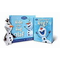 Disney's Frozen Hide and Hug Olaf Plush & Book Set