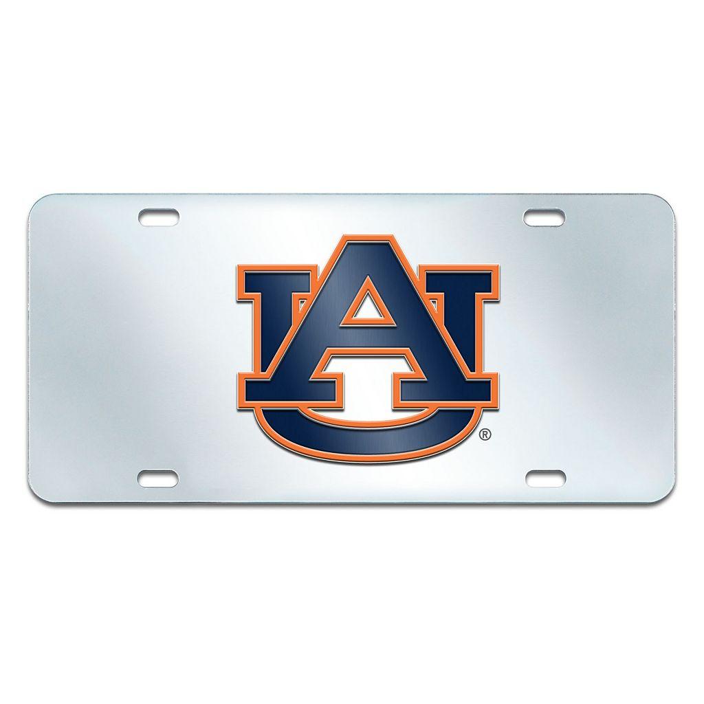 Auburn Tigers Mirror-Style License Plate