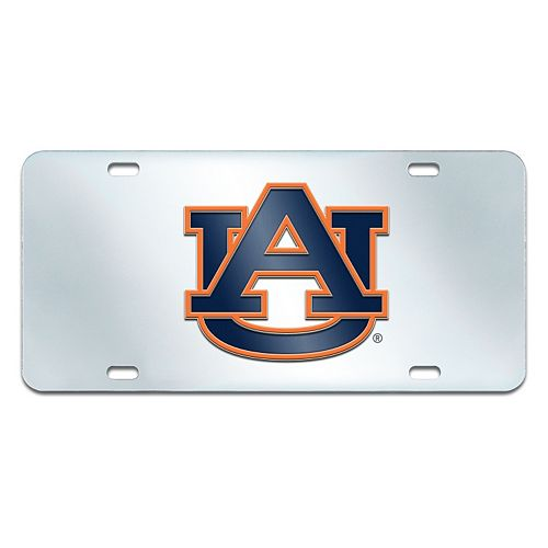 Auburn Tigers Mirror-Style License Plate