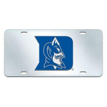 Duke Blue Devils Mirror-Style License Plate