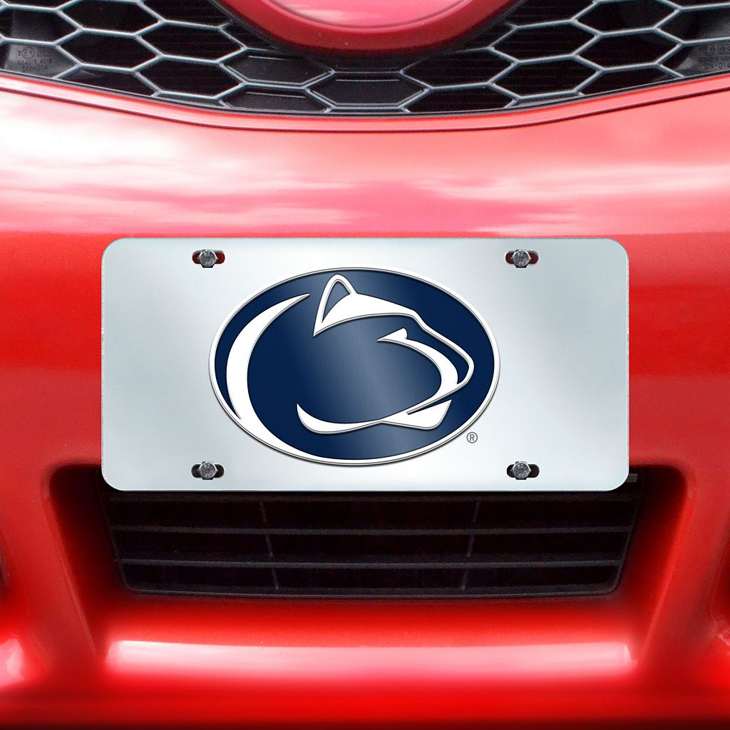 Penn State Nittany Lions Mirror-Style License Plate