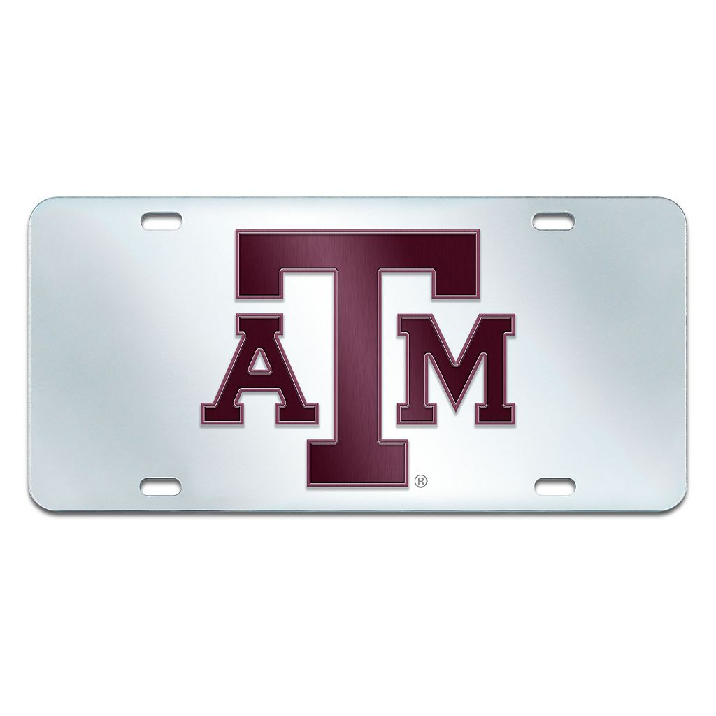 Texas A&M Aggies Mirror-Style License Plate