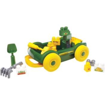 Mega Bloks First Builders John Deere Garden Cart
