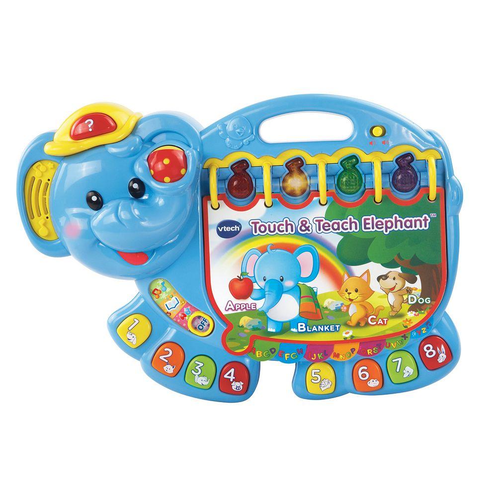 VTech Touch & Teach Elephant Toy