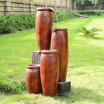 Agua Floor Fountain - Indoor & Outdoor