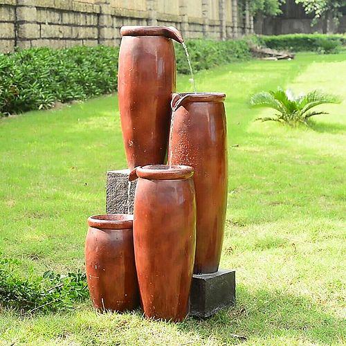 Agua Floor Fountain - Indoor and Outdoor