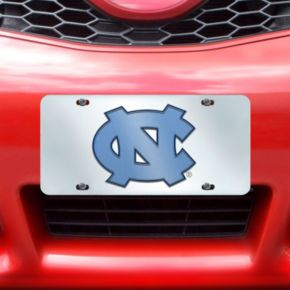 North Carolina Tar Heels Mirror-Style License Plate