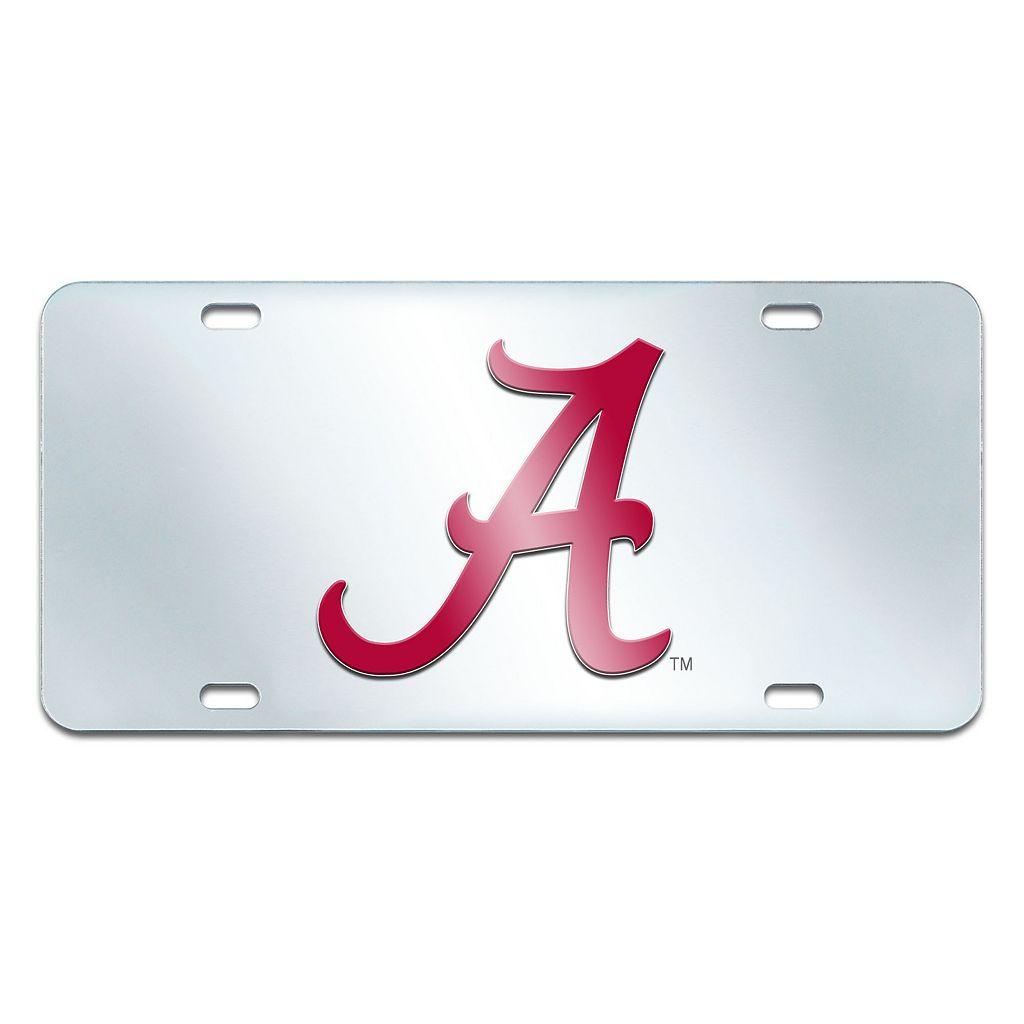 Alabama Crimson Tide Mirror-Style License Plate