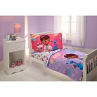Disney Doc McStuffins 4 pc Toddler Bedding Set by Crown Crafts
