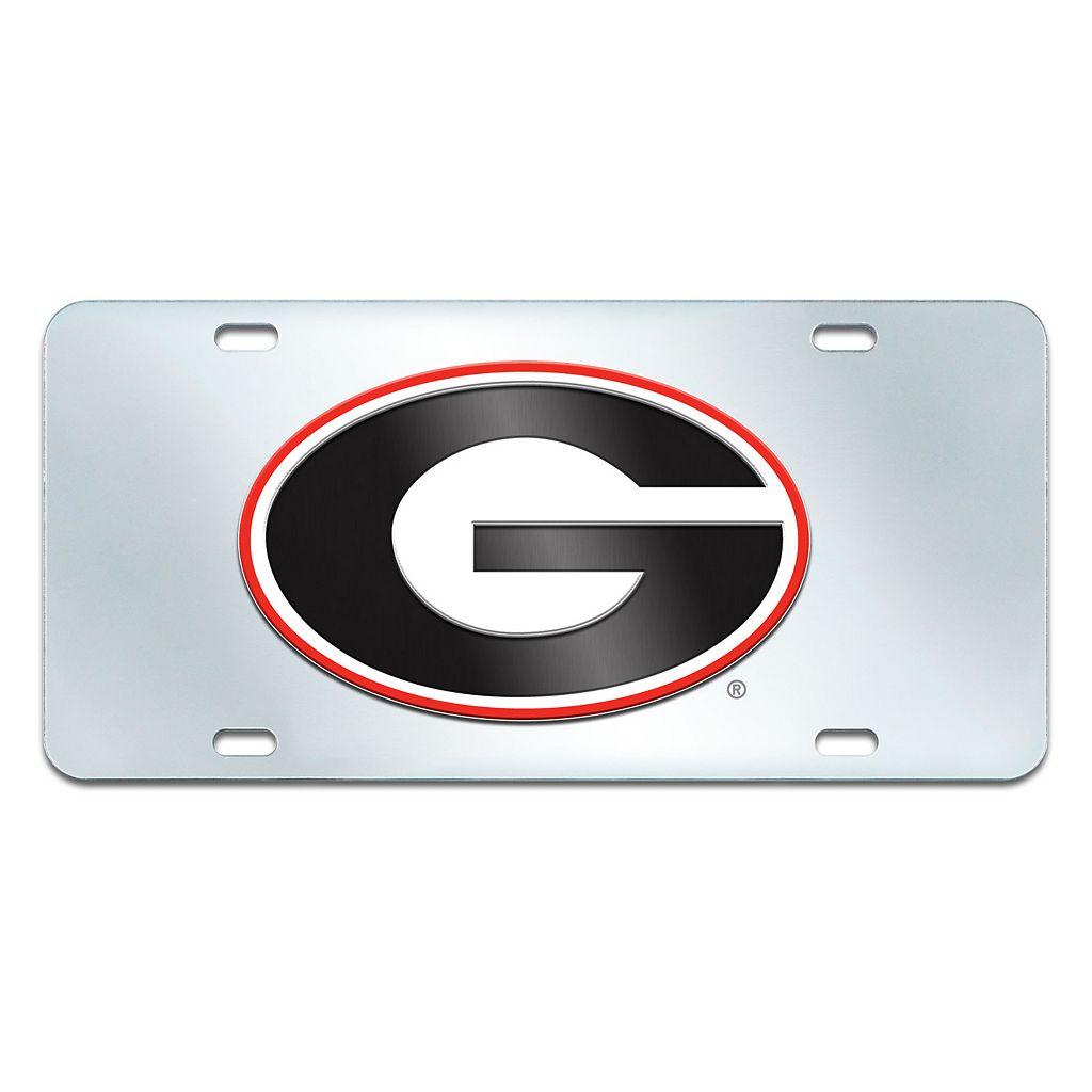 Georgia Bulldogs Mirror-Style License Plate