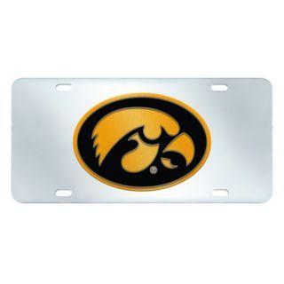 Iowa Hawkeyes Mirror-Style License Plate