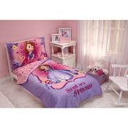 Disney Sofia the First 4 pc Toddler Bedding Set by Crown Crafts