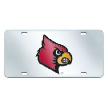 Louisville Cardinals Mirror-Style License Plate