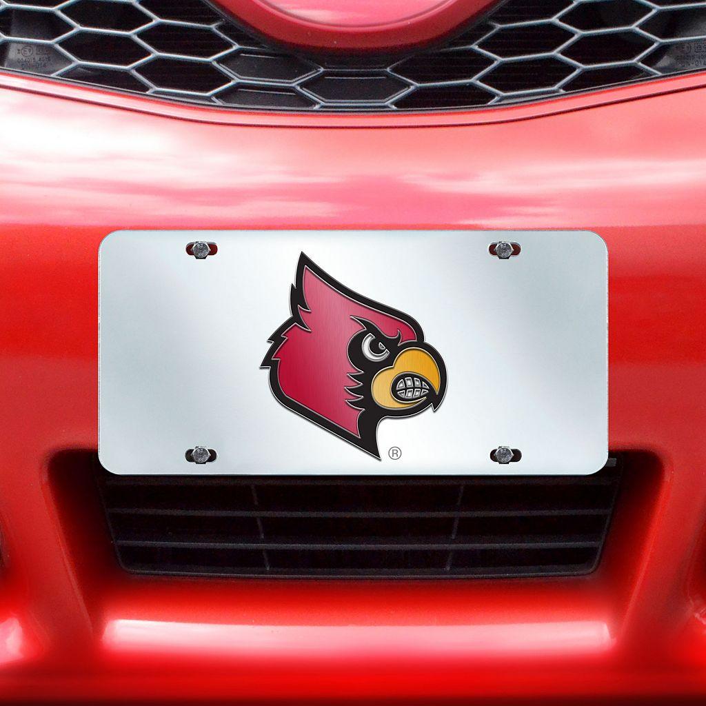 Louisville Cardinals Mirror-Style License Plate