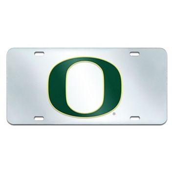 Oregon Ducks Mirror-Style License Plate