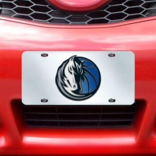 Dallas Mavericks Mirror-Style License Plate