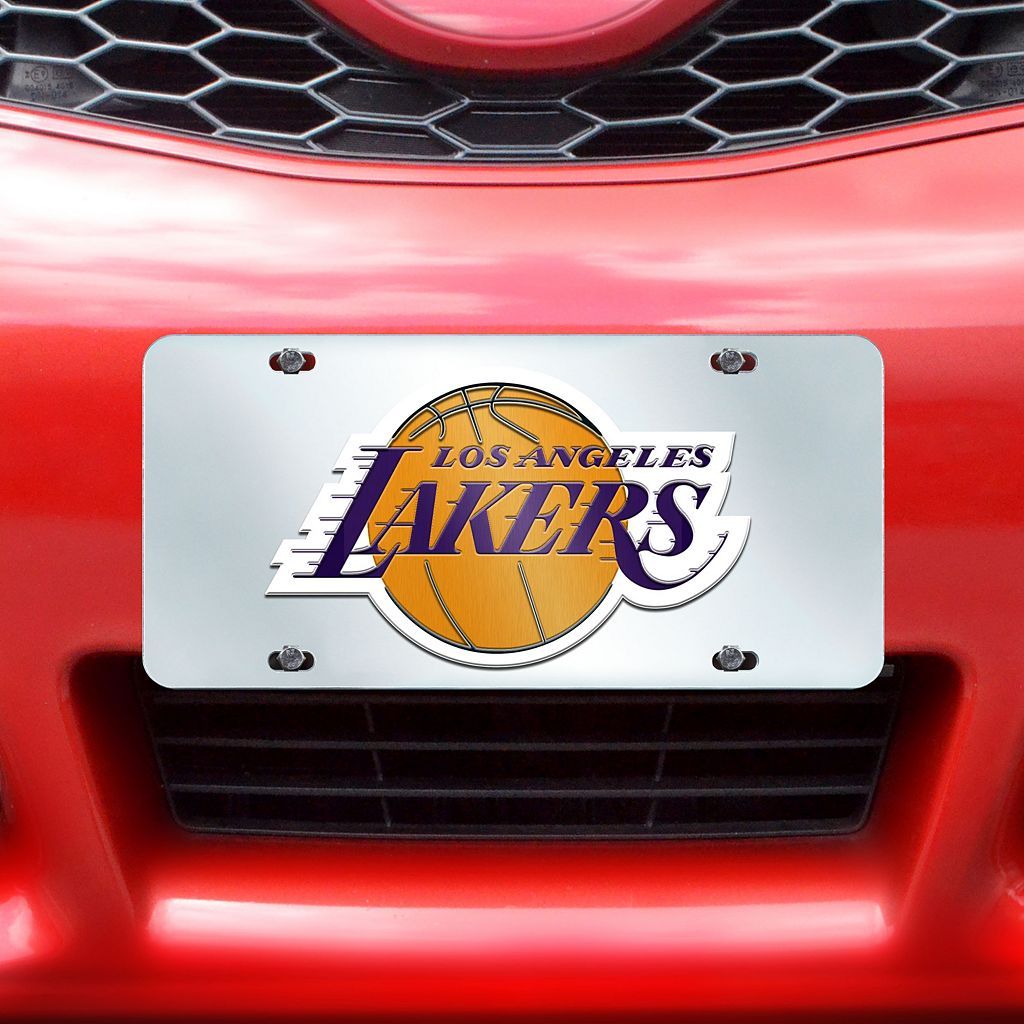 Los Angeles Lakers Mirror-Style License Plate