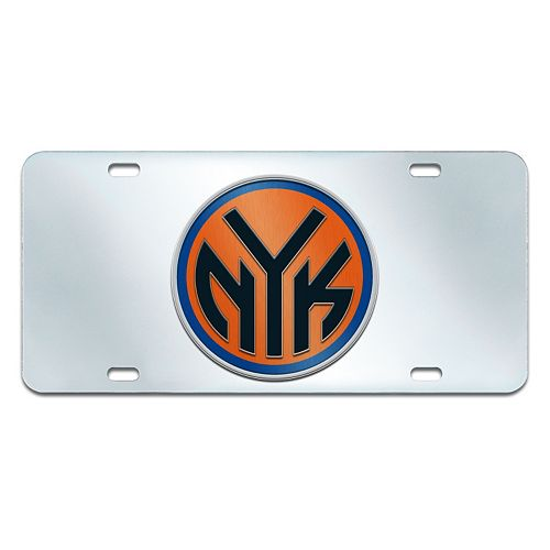New York Knicks Mirror-Style License Plate