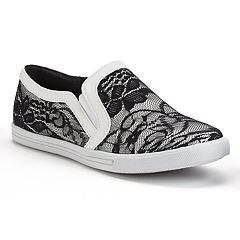 NYLA Edith Women's Lace Slip-On Sneakers