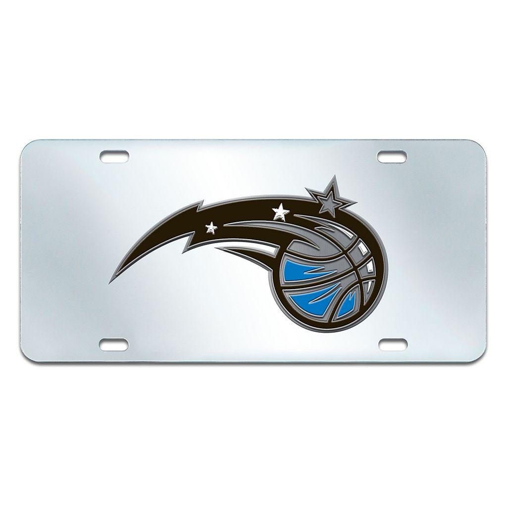 Orlando Magic Mirror-Style License Plate