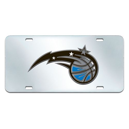 Orlando Magic Mirror-Style License Plate