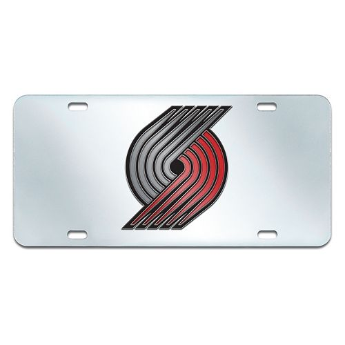 Portland Trail Blazers Mirror-Style License Plate