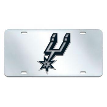 San Antonio Spurs Mirror-Style License Plate