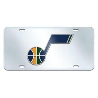 Utah Jazz Mirror-Style License Plate